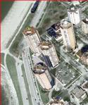 Beach towers, 3-d aerial_google_closeup