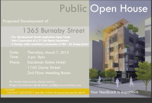 1365 Burnaby St Open House 7-Mar-2013