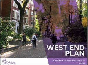 West End Plan Learning Sessions cover oct 2013