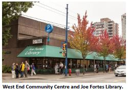 West End Community Centre, Joe Fortes Library. Photo CoV
