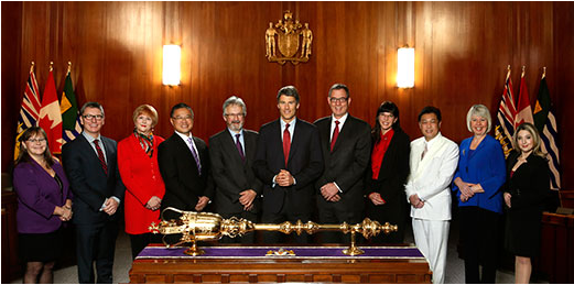 CoV photo Vancouver City Council 2015-2018