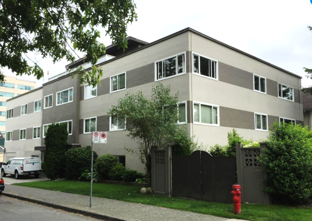 Three-storey walk-up rental apartment, Vancouver