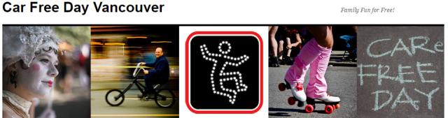 Car Free Day Vancouver web logo
