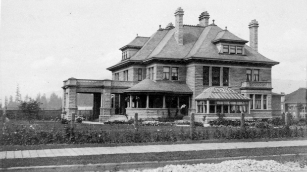 gabriola-mansion, Vancouver Archives