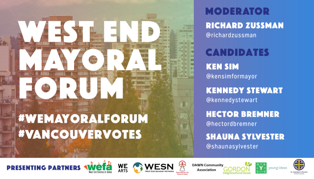 WE Mayoral Forum 2018