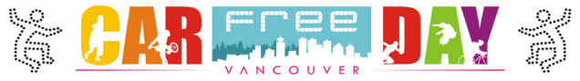 Car Free Day Vancouver website June 2019